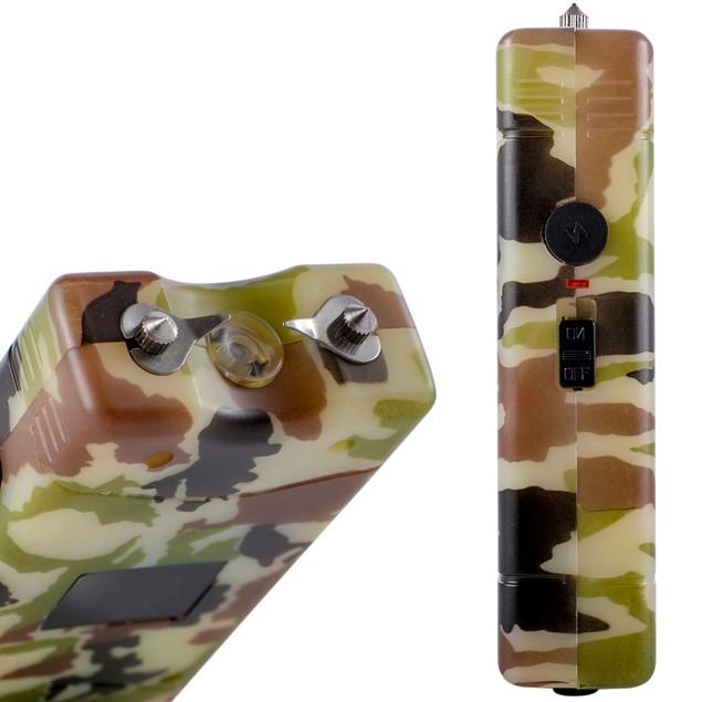 2-in-1 Self Defense 1,000,000V Volt Stun Gun