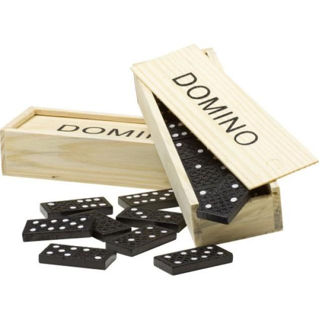 Wooden Domino Set