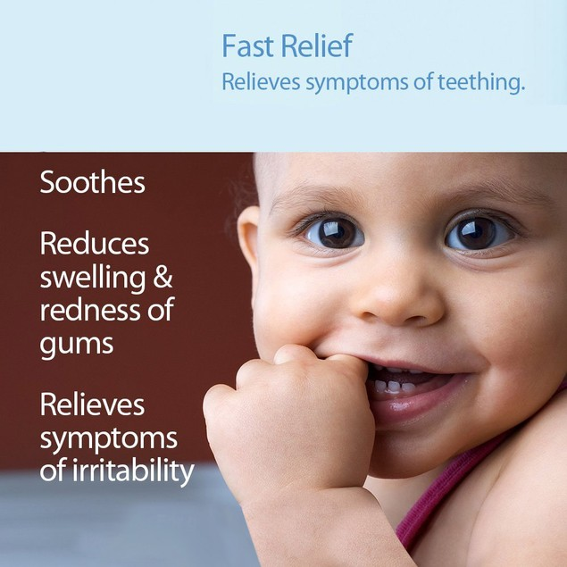 Hyland's Baby Homeopathic Natural Relief Teething Gel - 0.5 Ounce