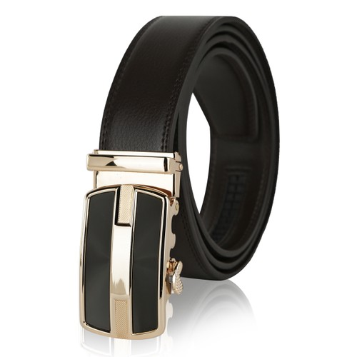 MKF Collection Brye Mens Genuine Leather Belt by Mia K.
