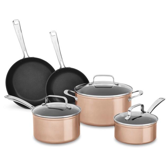 KitchenAid 8-Piece Hard-Anodized Non-Stick Cookware Set