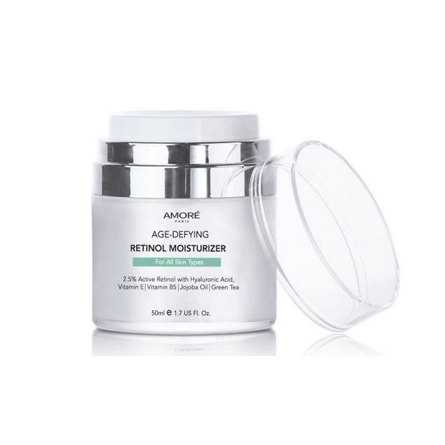 AMORE PARIS Retinol 2.5% High Potency Anti-Aging Moisturizer (1.7 Fl. Oz.)
