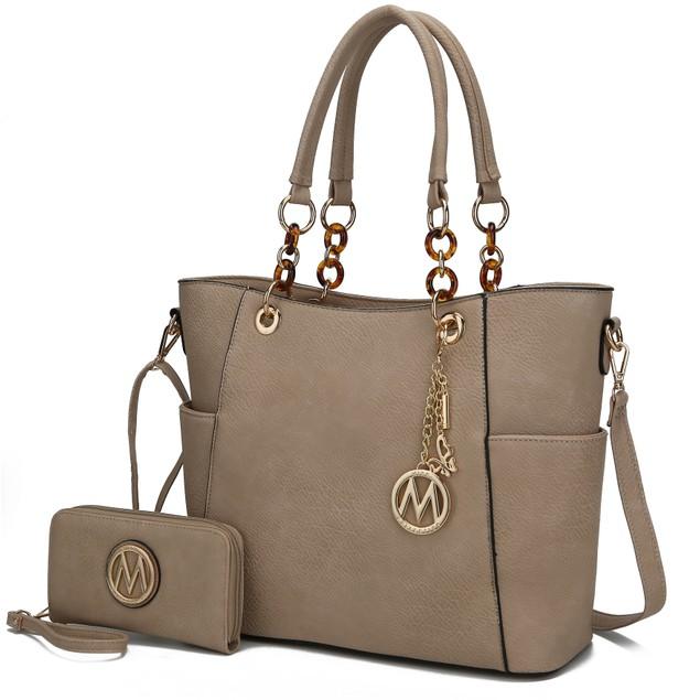 MKF Collection Bonita Tote Bag with Wallet by Mia k.