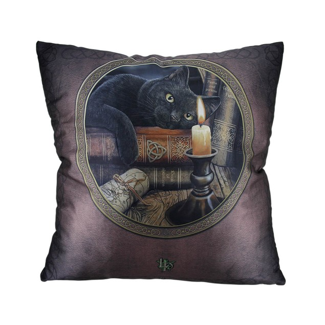 Lisa Parker The Witching Hour 20 Inch Black Cat Throw Pillows