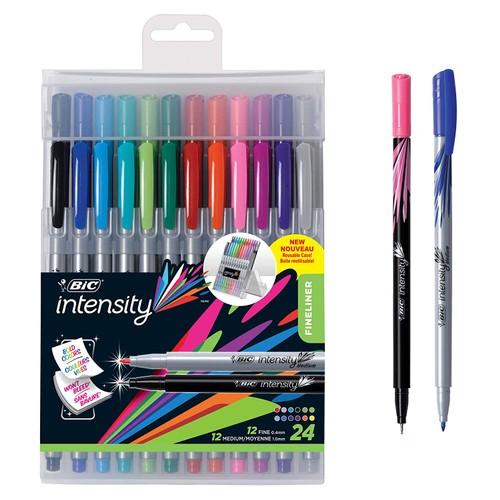 2-Pack BIC Intensity Fineliner Marker Pens