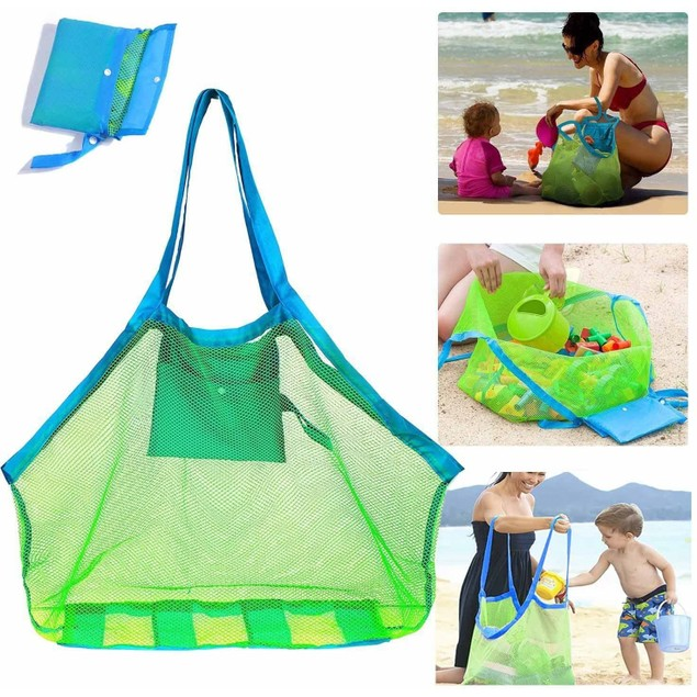 Sand Free Oversized Mesh Beach Bag