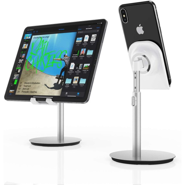 2-Pack Universal Adjustable Phone/Tablet Stand