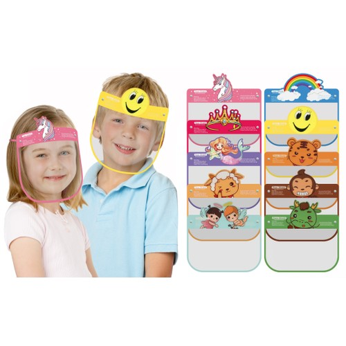 5-Pack Kids' Face Shields
