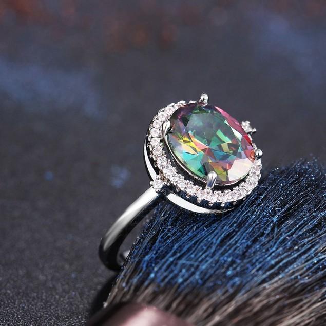 Cubic Zirconia Fancy Ring