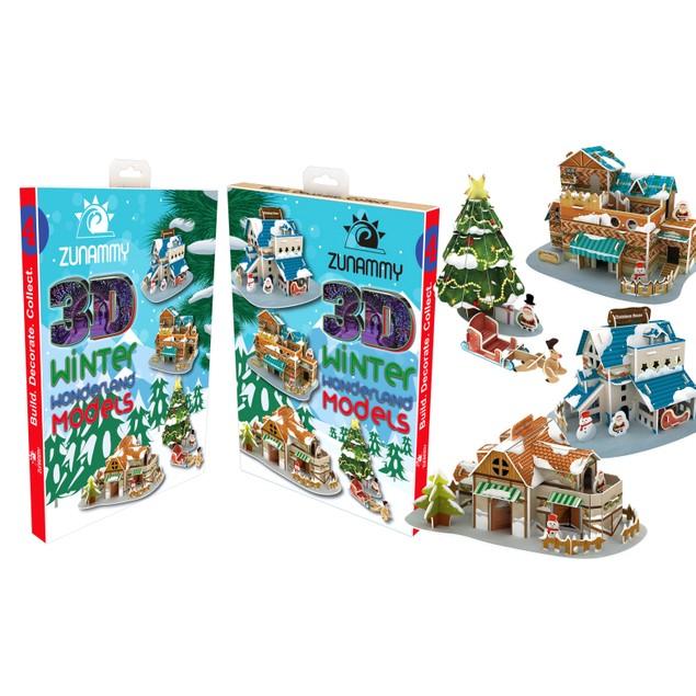 Zunammy 3D Pop Up Holiday Coolest Place Puzzle