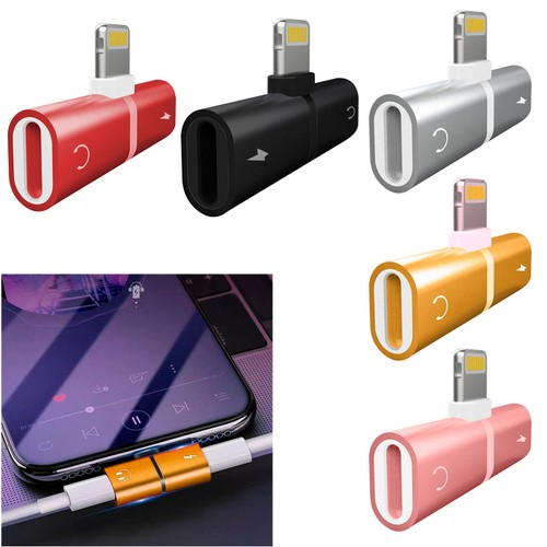 Metallic Lightning Splitter For iPhone