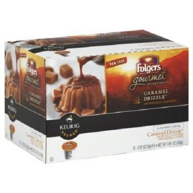Folgers Gourmet Selections Caramel Drizzle Keurig K-Cups