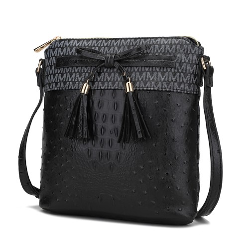 MKF Collection Kalyn Croc Crossbody Bag