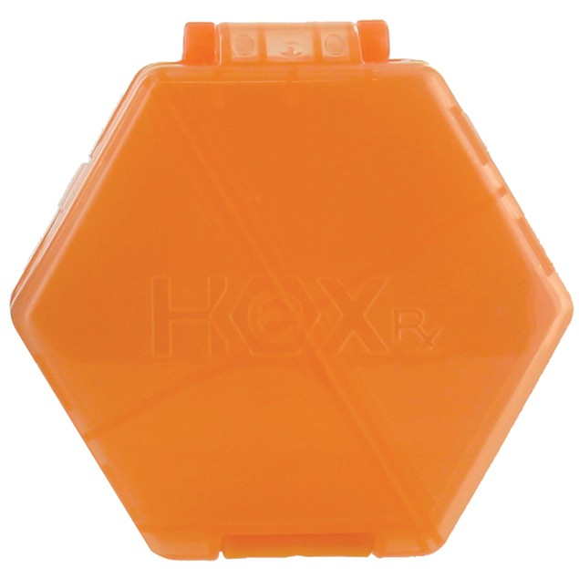 3-Pack The HEXCompact Multi-Functional Pill and Vitamin Caddy