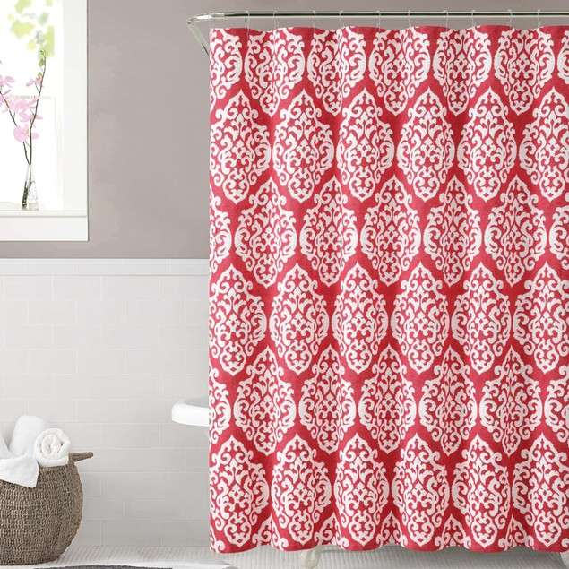 "Ruthy's Textile 100% Cotton Shower Curtain  72"" X 72"""