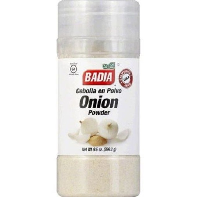 Badia Onion Powder Seasoning 9.5 oz Bottle