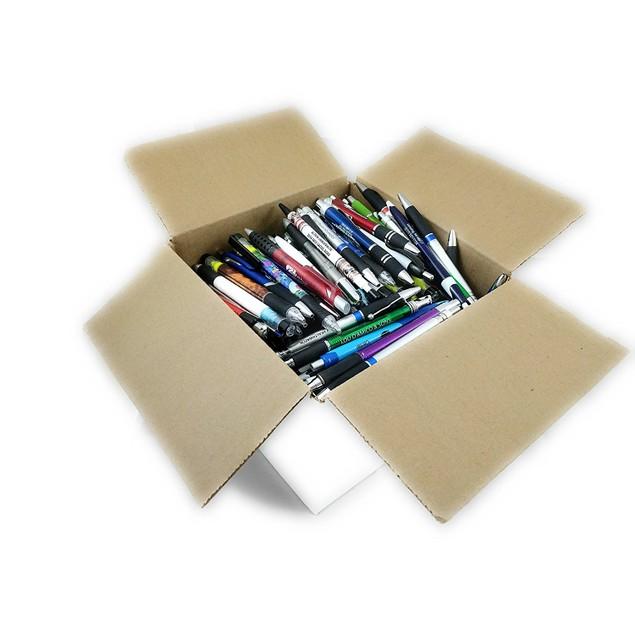 Bulk Wholesale Lot of Plastic Retractable Ballpoint Ink Pens Misprint - Office Supplies