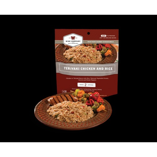 Wise Foods Outdoor Meals - 6-Pack Teriyaki Chicken & Rice