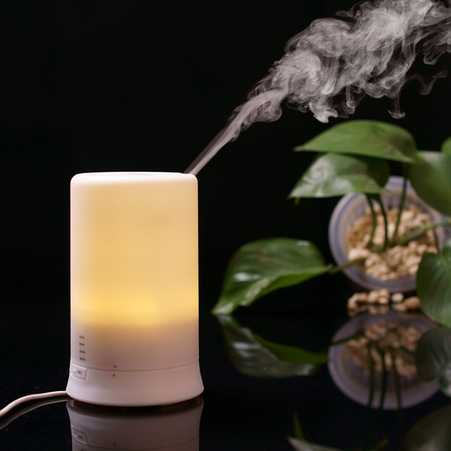 Aesthetics Ultrasonic Aroma Diffuser and Humidifier with Oil Set (9-Piece)