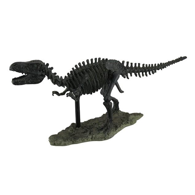 Antique Finish Tyrannosaurus Rex Skeleton T-Rex Statues