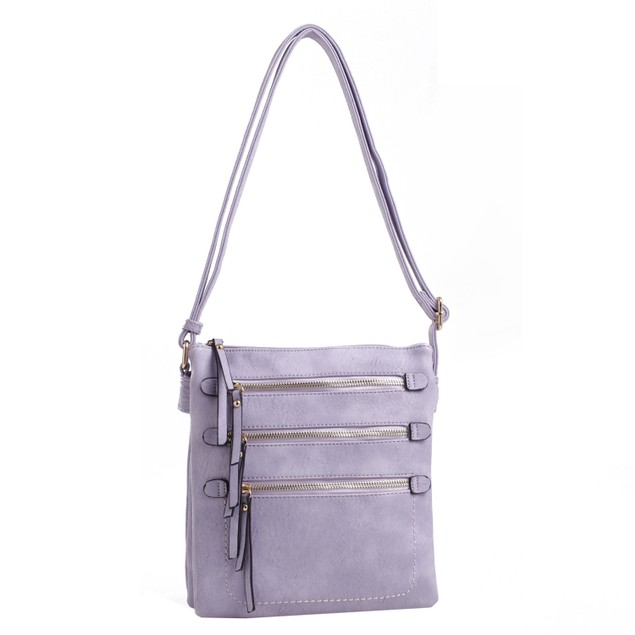 MKF Collection Salome Expandable Compartment Cross body by Mia K.