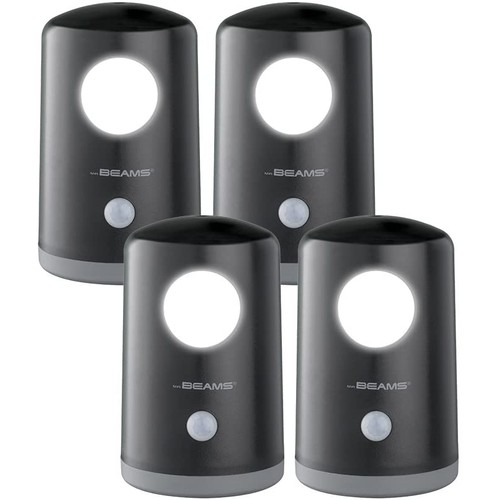 4-Pack: Mr Beams Battery Powered Motion Sensing Stand Anywhere Light