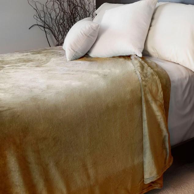 Lavish Home Super Soft Flannel Blanket
