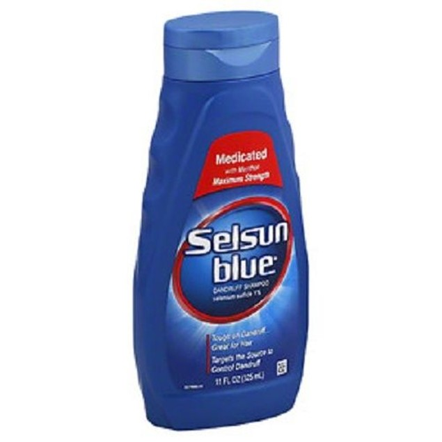 Selsun Blue Dandruff Shampoo Medicated Treatment 2 Bottle Pack