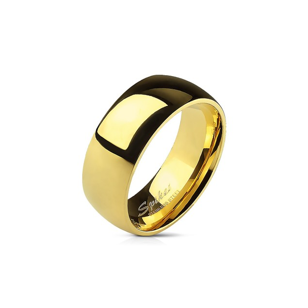 316L Stainless Steel Comfort Fit Band Rings