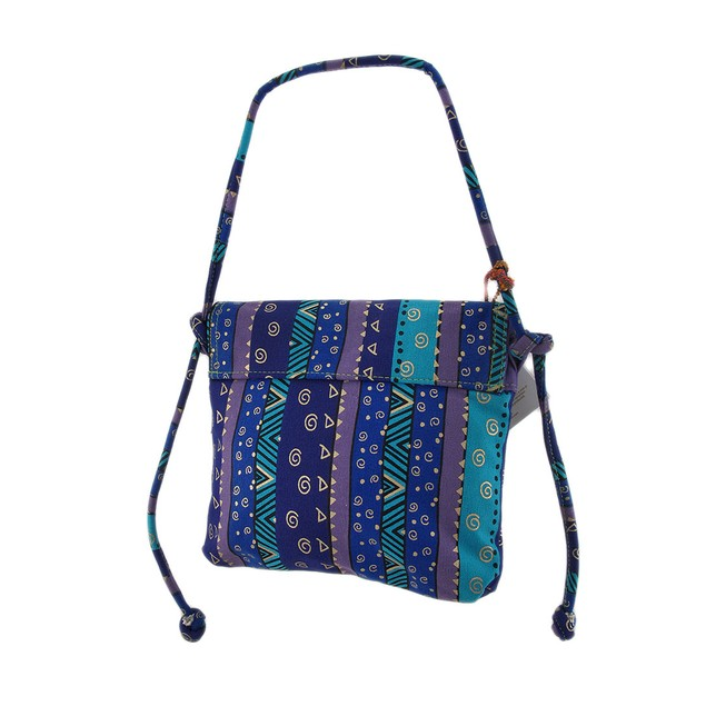 Laurel Burch Mythical Dogs Cross Body Bag Womens Cross Body Bags