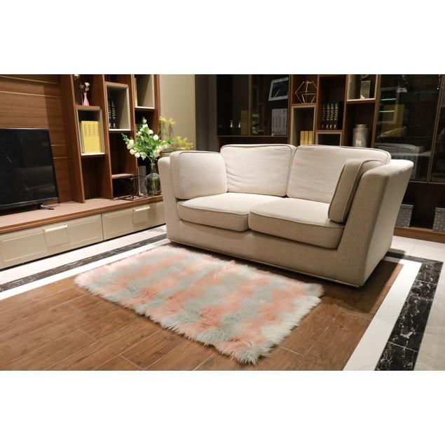 Luxurious Plush Bear Shag Decorative Area Rugs - 2 Sizes