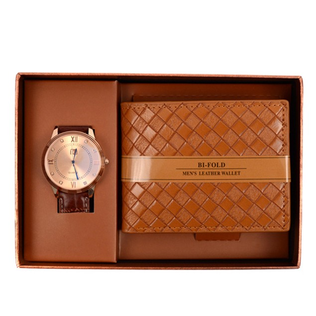 Assorted Watch & Wallet Sets