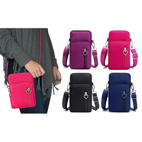 Women's Mini Cross-Body Shoulder Strap Cell Phone Wallet Pouch Bag Purse