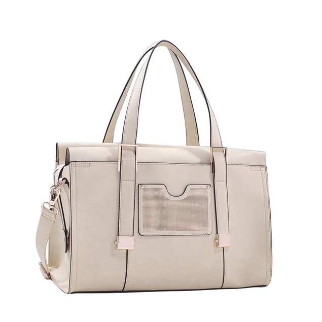 MKF Collection Kiki Satchel with Cosmetic Pouch by Mia K.