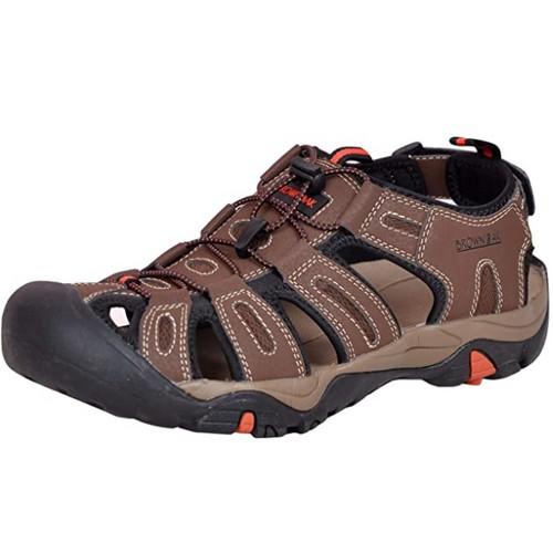 Brown Oak Men's Hiking/Sport Shoe Sandal- Brown