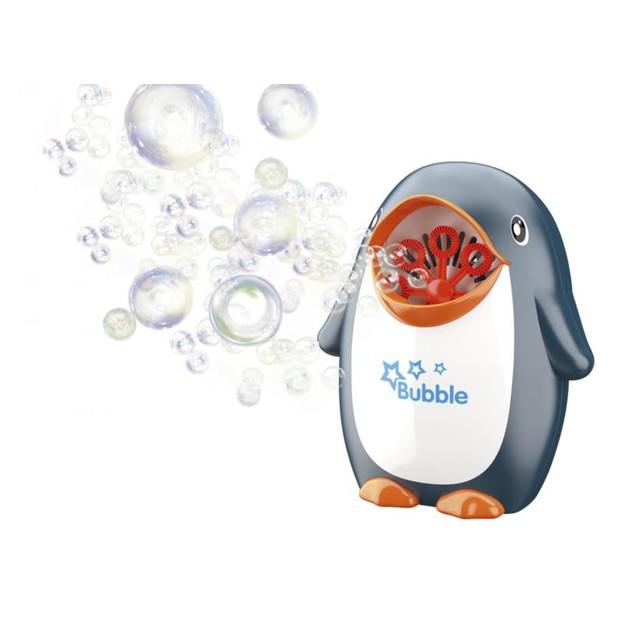 Penguin Bubble Machine