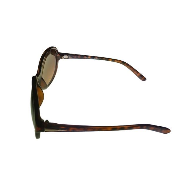 Ellen Tracy Womens Sunglass 536 1 Demi Rectangle Plastic, Gradient Lens