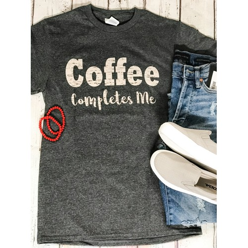 Coffee Completes Me T-Shirt