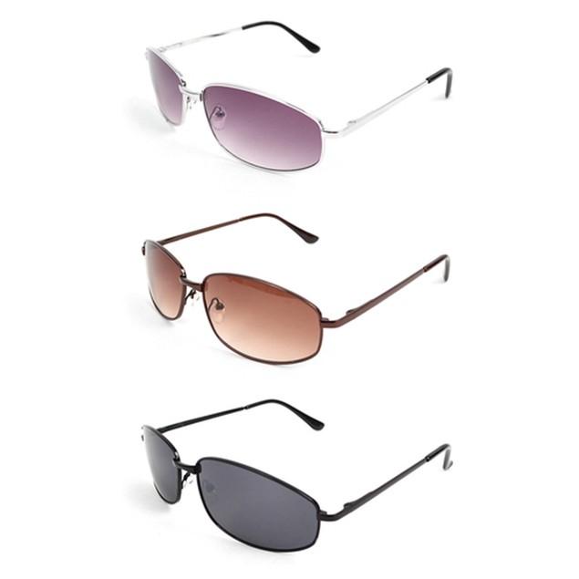 4-Pack Unisex Random Assorted Metal Sunglasses