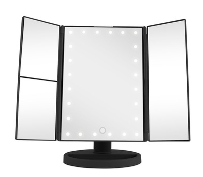 Vivitar Simply Beautiful 24 Led Light Up Trifold Mirror