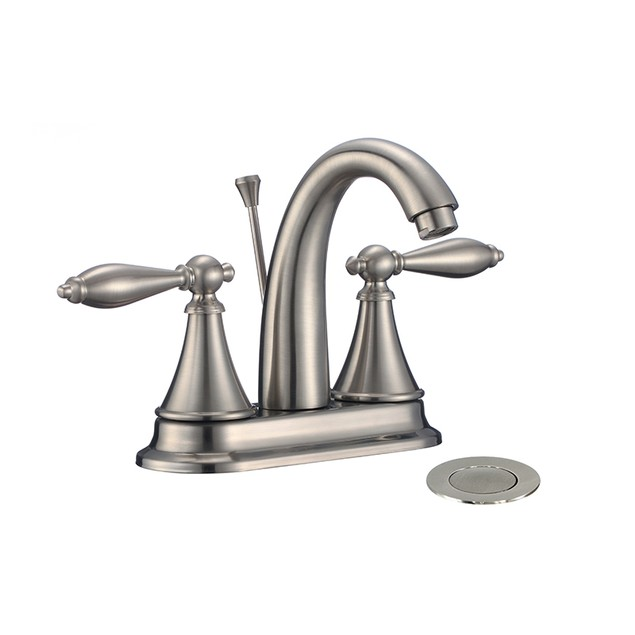 LUXEflo Calera Centerset Bathroom Faucet (Nickel or Bronze)