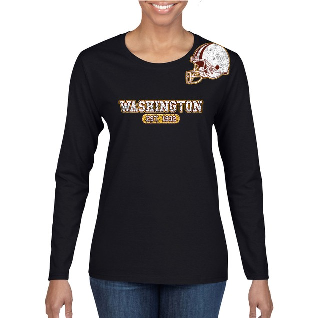 Women's Awesome Football Helmet Long Sleeve Shirts