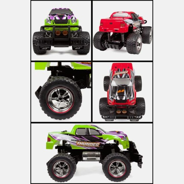World Tech Toys Thunder Maxx Pro RTR Monster Truck