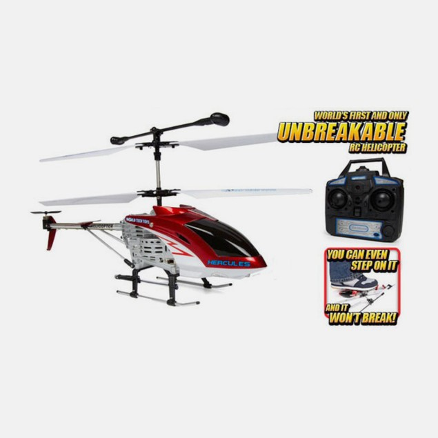 Hercules Unbreakable Remote Control Helicopter