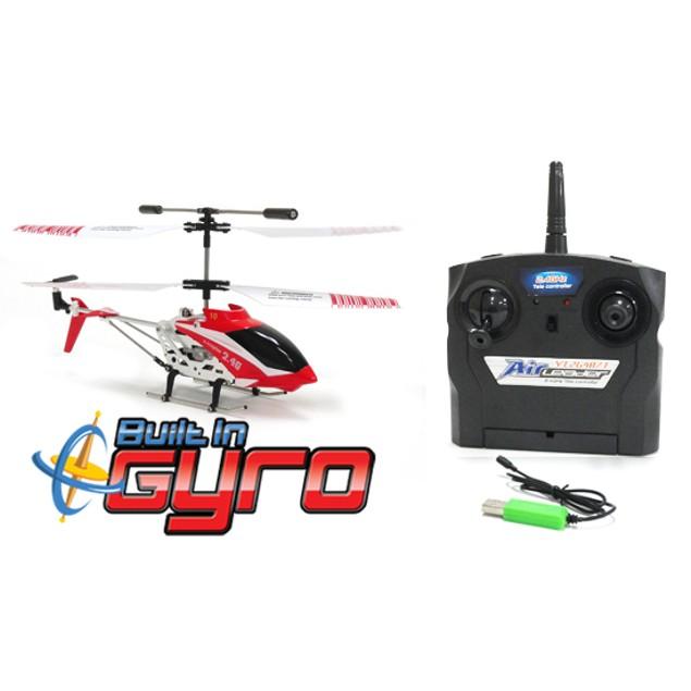 GYRO Metal Giga Hawk 3.5CH 2.4GHz Electric RTF RC Helicopter