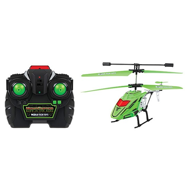 Glow-in-the-Dark RC 3.5 CH Night Helicopter