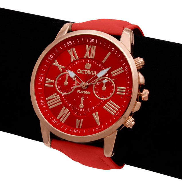 Octavia Toscana Watch - Red