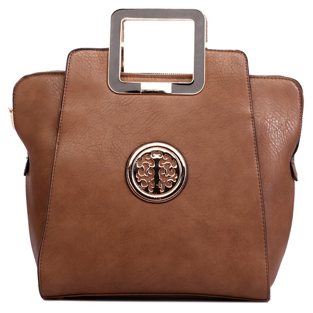 MKF Collection Molly Medallion Satchel by Mia K