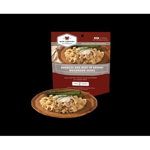 Wise Foods Outdoor Meals - 6-Pack Noodels & Beef