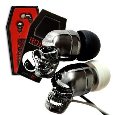 TECHN9NE Ruffian Skull Earphones